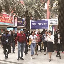 International sister city media representatives visit Yiwu International Trade City